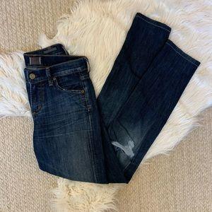 COH 25 skinny jeans distressed